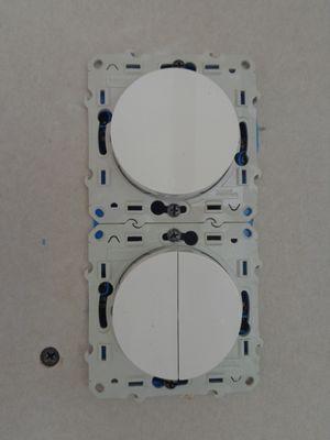 Montage appareillage vertical