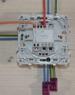 Raccordement interrupteur