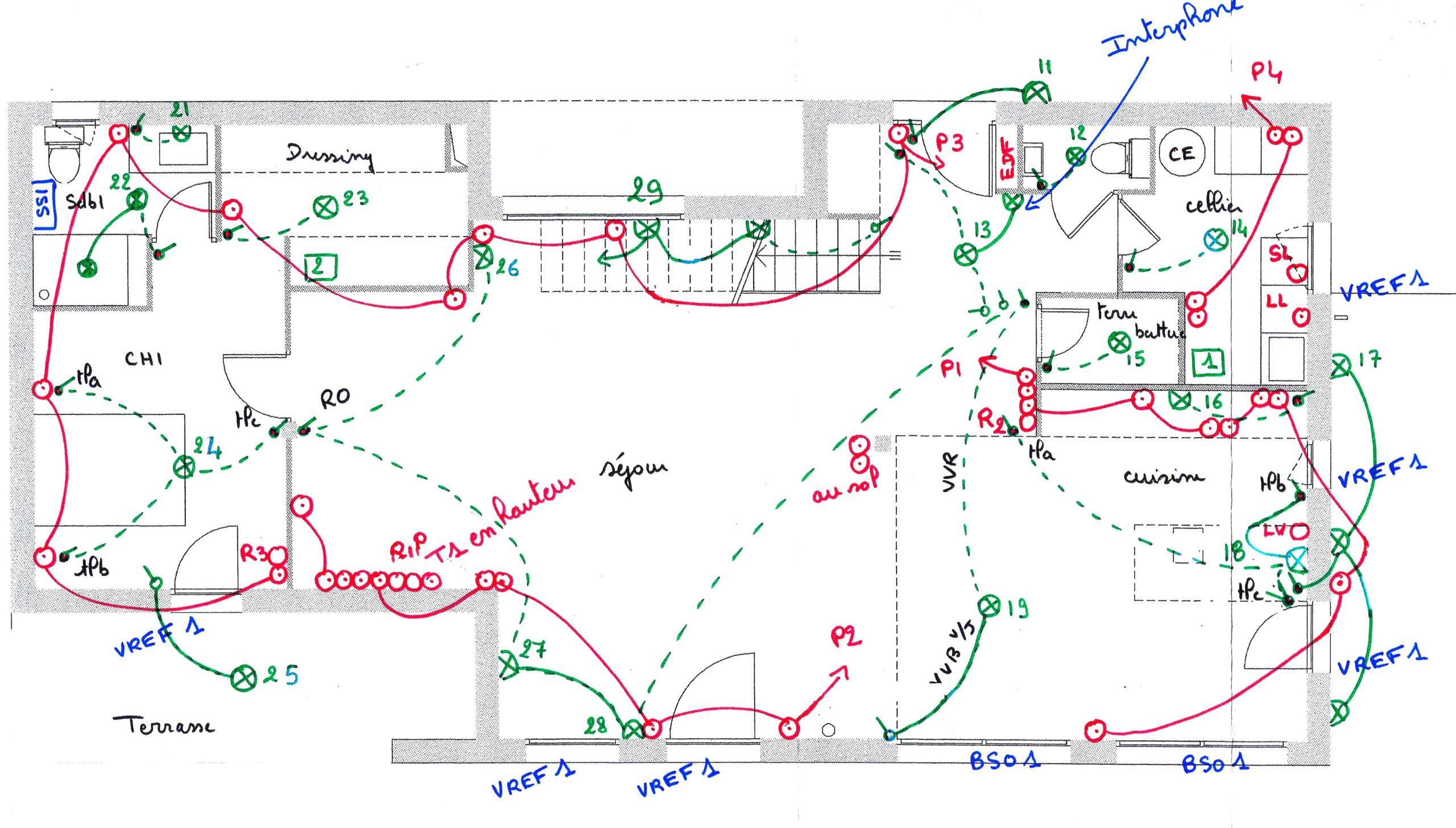 Plan électrique général