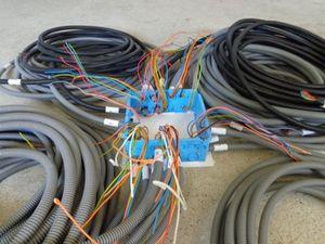 Mise en place des gaines électrique